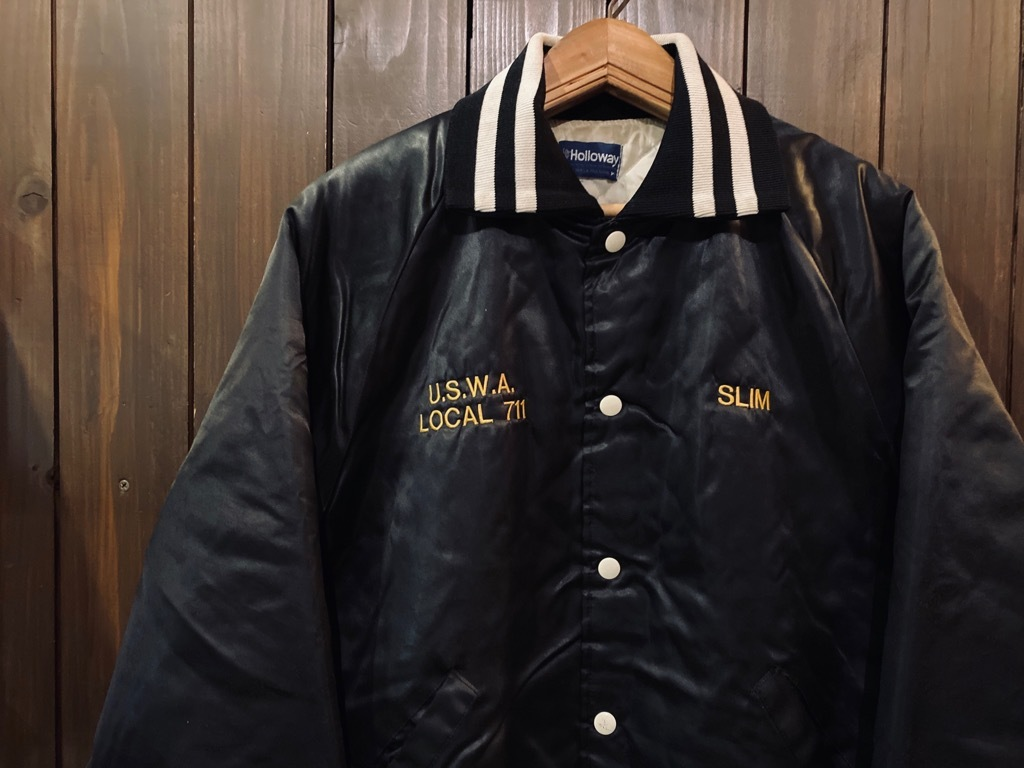 マグネッツ神戸店 8/8(土)Varsity Jacket入荷! #4 Black & White!!!_c0078587_11034807.jpg