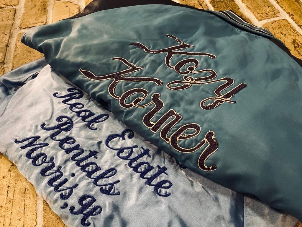 マグネッツ神戸店 8/8(土)Made in U.S.A. Nylon/Satin Varsity Jacket入荷! #3 Chain Stitch!!!_c0078587_12391505.jpg