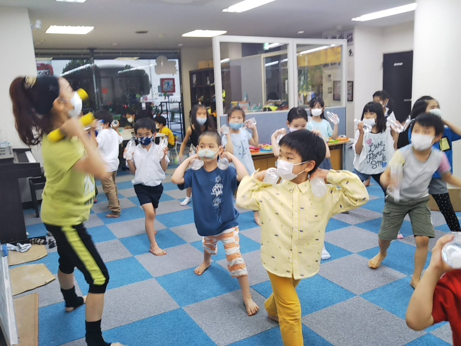 7月15日 Dance  Event ☆ ペットボトルで Dancing!_c0315908_11373465.jpg