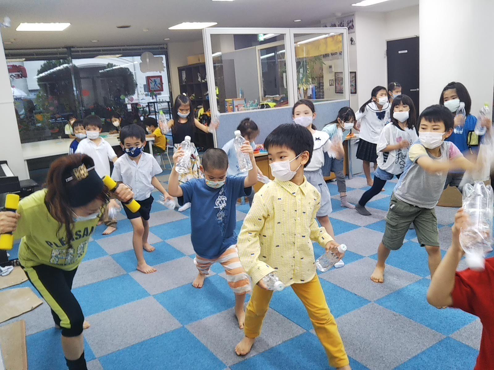 7月15日 Dance  Event ☆ ペットボトルで Dancing!_c0315908_11393625.jpg