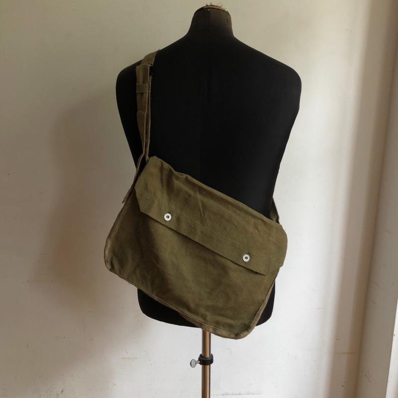 French Army Linen Bread Bag (Musette Bag) Dead Stock_f0370108_14110163.jpg