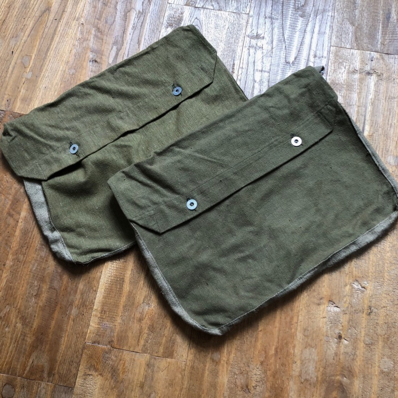 French Army Linen Bread Bag (Musette Bag) Dead Stock_f0370108_14111715.jpg