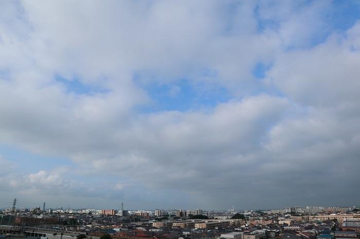 層状雲(層積雲)_b0268615_10492762.jpg