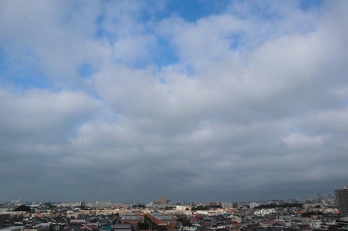 層状雲(層積雲)_b0268615_10494737.jpg