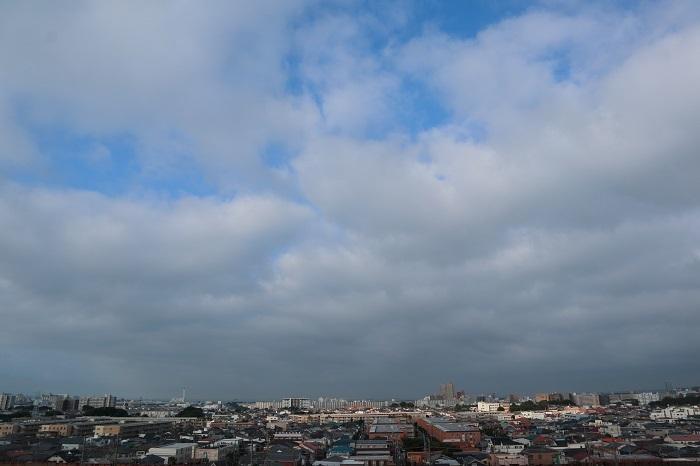 層状雲(層積雲)_b0268615_10500309.jpg