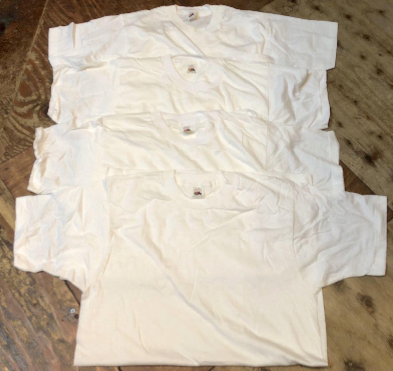 8月9日(日)入荷!80s デッドストック #1 MADE IN U.S.A fruits of the loom フルーツ オブ ザ ルーム Tシャツ!_c0144020_15405985.jpg