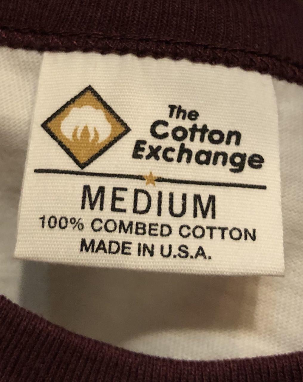 8月9日(日)入荷! 80s デッドストック #2  MADE IN U.S.A  the cotton exchange コットンエクスチェンジ ちょこチン Tシャツ!_c0144020_15423985.jpg