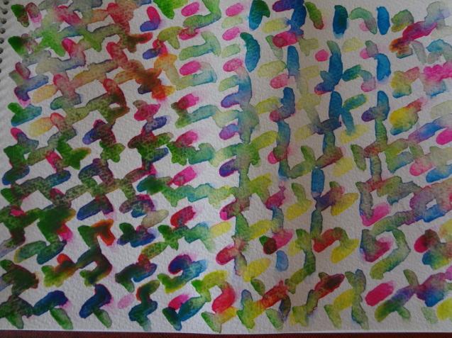 水彩画で思うがままに抽象画を描いてみました_f0375930_14111004.jpg