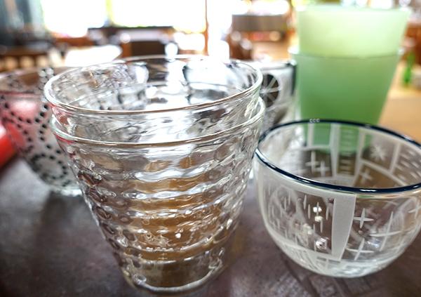 【平井睦美〜over the Table】夏の気分はレースのようなガラスで爽やかに!_a0017350_10231933.jpg