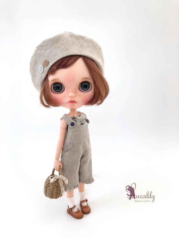 *lucalily * dolls clothes* Linen clothes set *_d0217189_14594368.jpeg