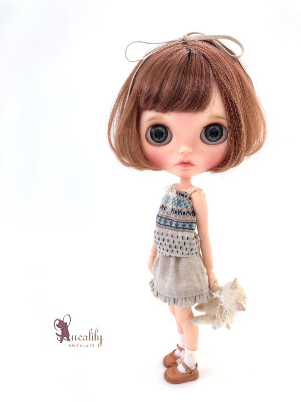 *lucalily * dolls clothes* Linen clothes set *_d0217189_14595800.jpeg