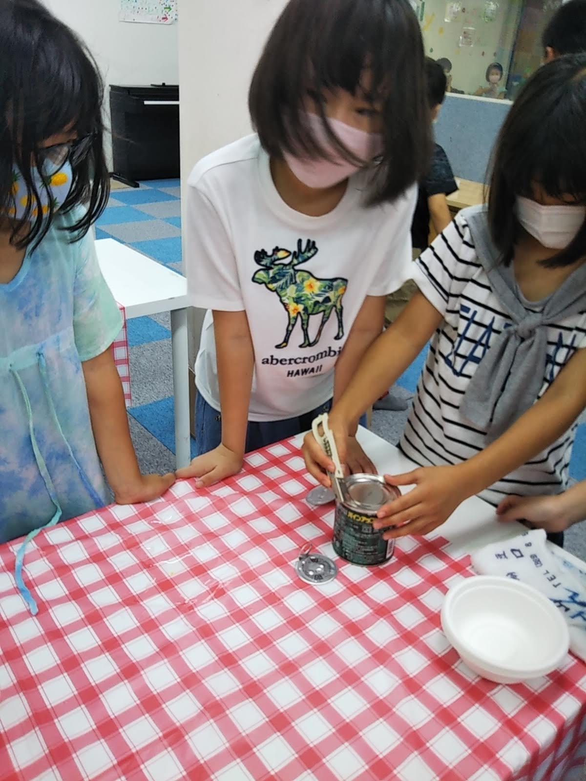 8月6日 おやつ作り / Making Fruit Punch _c0315908_11300076.jpg