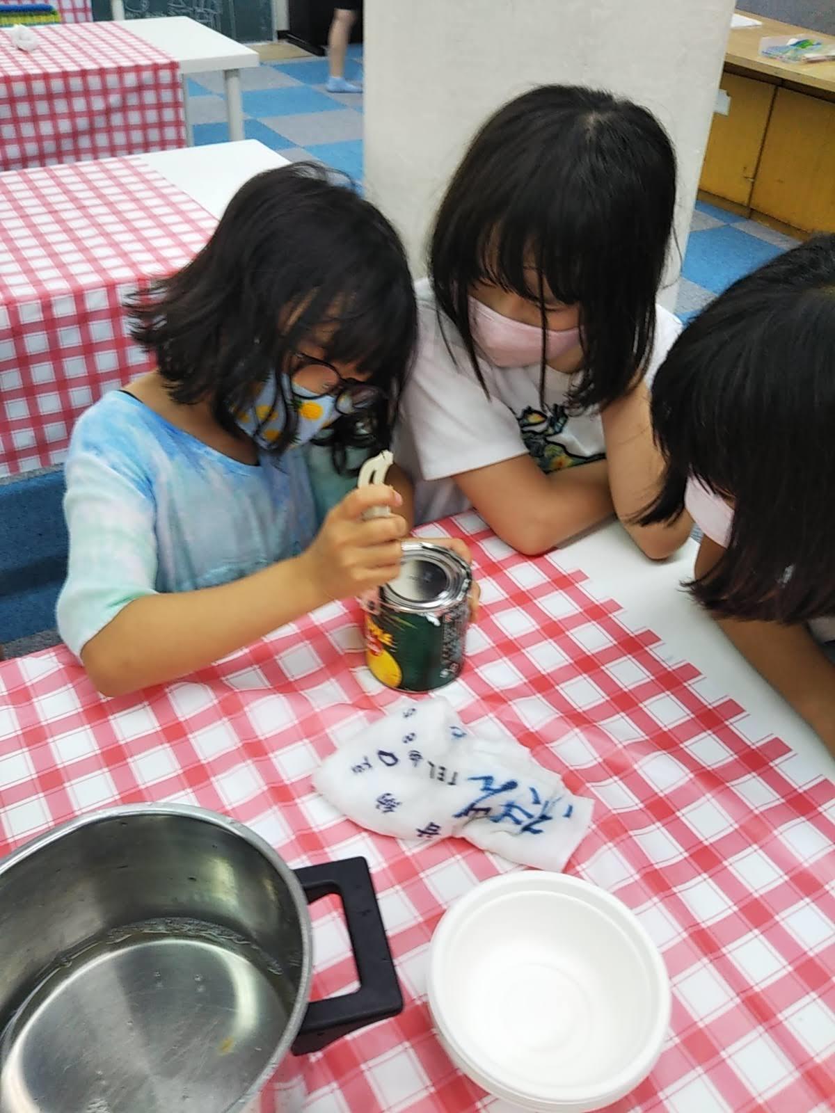 8月6日 おやつ作り / Making Fruit Punch _c0315908_11301239.jpg