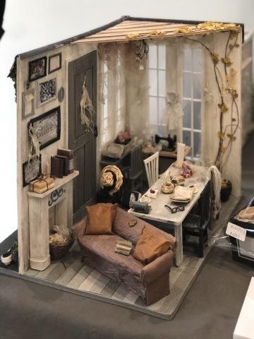 「こんなお家に住んでみたい♡」村田美穂ちゃんの「紙バントで楽しくミニチュアハウス」の出版記念作品展に行ってきました@表参道ギャラリーニイク_a0157409_14211742.jpeg