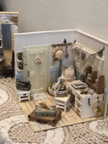 「こんなお家に住んでみたい♡」村田美穂ちゃんの「紙バントで楽しくミニチュアハウス」の出版記念作品展に行ってきました@表参道ギャラリーニイク_a0157409_14230707.jpeg