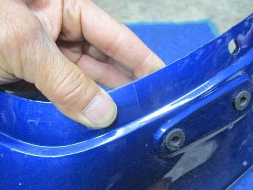 S田サン号 GPZ900Rニンジャのカウルステー&スクリーン交換だったりカウル補修からの車検取得で試乗・・・(^^♪ (Part2)_f0174721_20520387.jpg