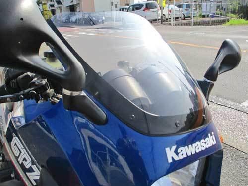 S田サン号 GPZ900Rニンジャのカウルステー&スクリーン交換だったりカウル補修からの車検取得で試乗・・・(^^♪ (Part2)_f0174721_20583041.jpg