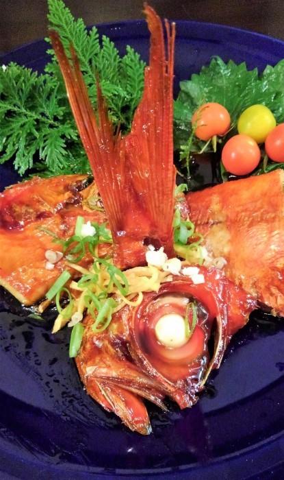 ■居酒屋メニュー【金目鯛の美味しい煮付け方レシピ】_b0033423_22530976.jpg