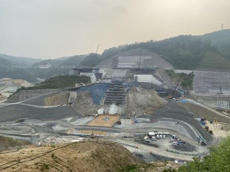 安威川ダム工事の現在の姿_b0017844_08551086.jpeg