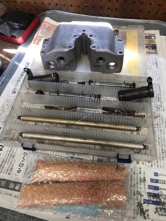 XR1000ロッカーシャフト折れ修理 8/8/2020_c0133351_12534101.jpg