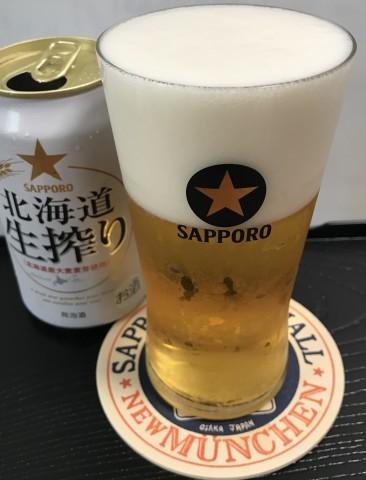 ビアランチ 北海道生搾り & ホワイトベルグ_b0176192_16574177.jpg