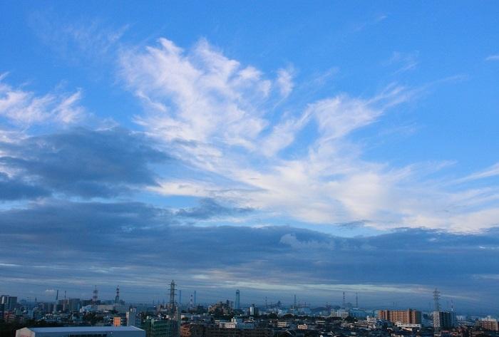 積雲と巻雲の濃密雲_b0268615_14262509.jpg