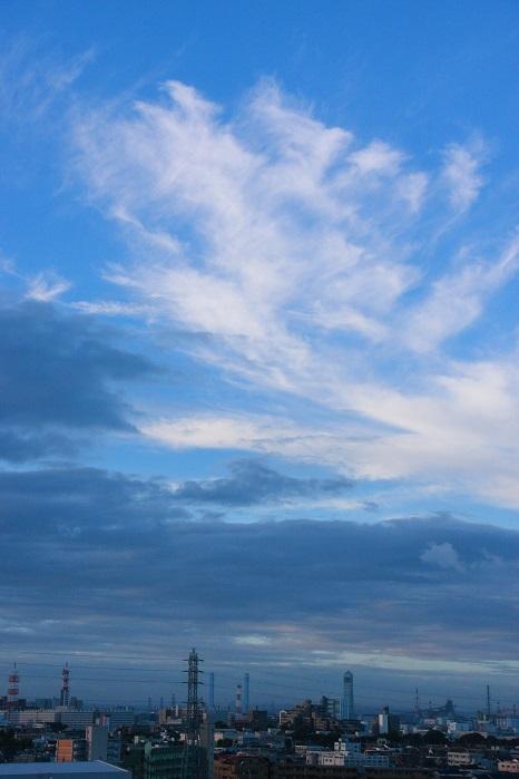 積雲と巻雲の濃密雲_b0268615_14264726.jpg