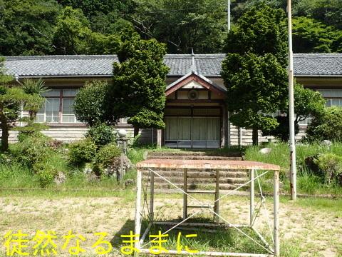 旧門谷小学校・アサギマダラ飛来準備_d0285540_21454185.jpg