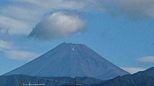 8月になって始めて見た綺麗な富士山です_d0390236_09191961.jpg