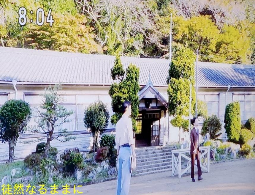 旧門谷小学校・アサギマダラ飛来準備_d0285540_05374648.jpg