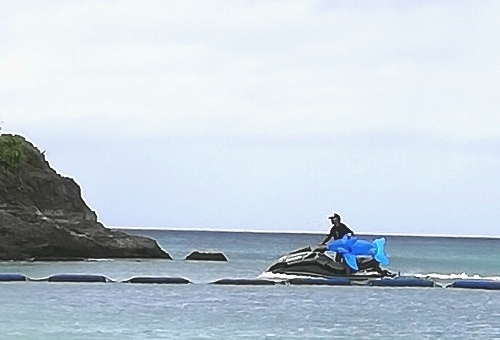 流されたイルカのフロートが救出された朝!(Day3)_d0169072_06520624.jpg