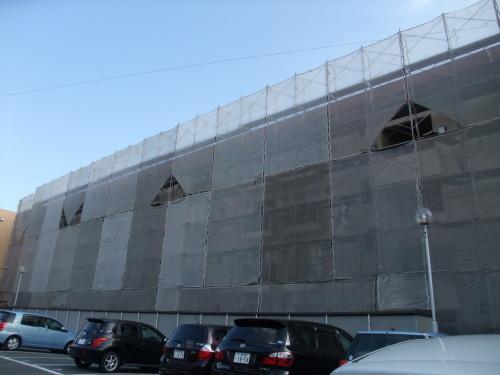 外壁と階段室の改修工事_c0128774_16094983.jpg