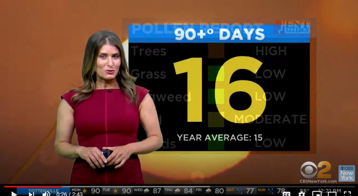 """今週、アメリカでも猛暑、""""Heat Advisory""""(ヒート・アドバイザリー)って何?_b0007805_05475557.jpg"""