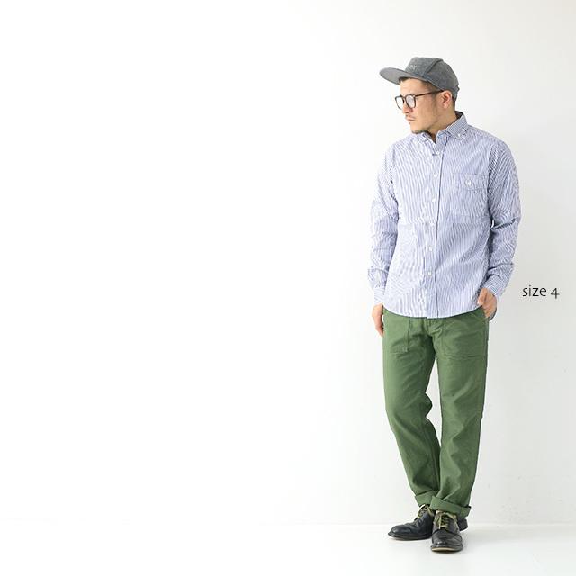JAMES [ジェームス] STANDARD SHIRT 【Pujol】[JS101] スタンダードシャツ・プジョル・長袖シャツ・(DELICIOUS/STUDOI ORIBE)MEN\'S_f0051306_16034321.jpg