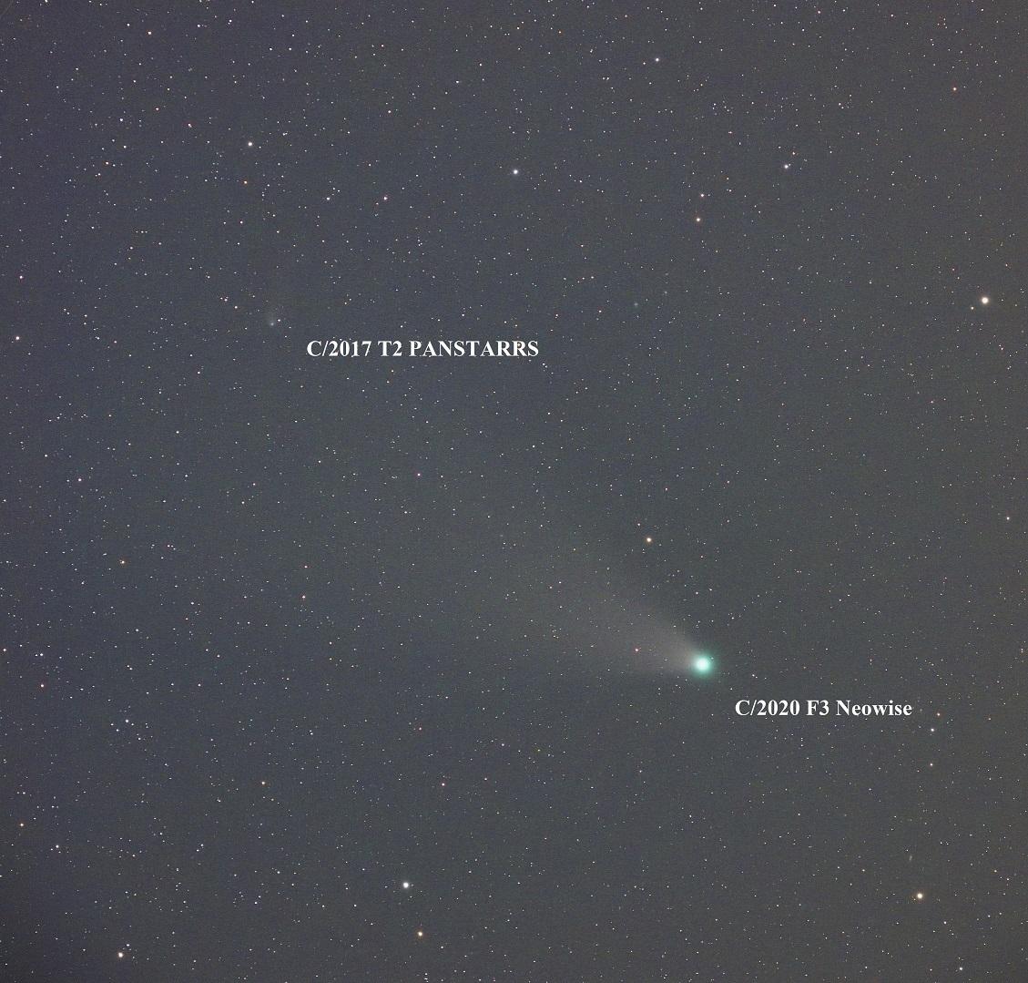 やっと撮影出来たNeowise彗星(C/2020 F3)_e0344621_06241107.jpg