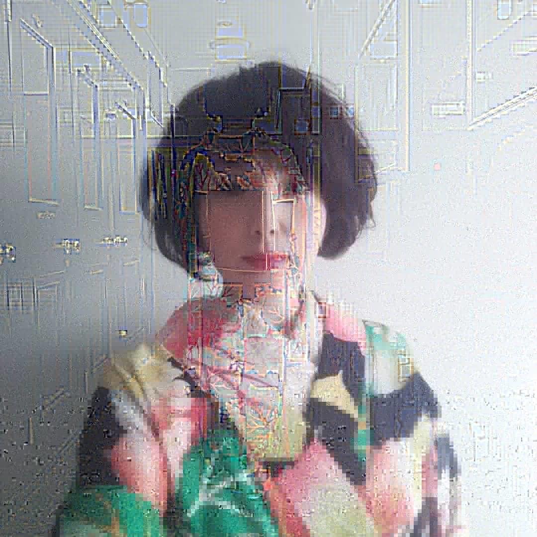 200812 アンティーク着物の繕いもの「閂止め」_f0164842_21523372.jpg
