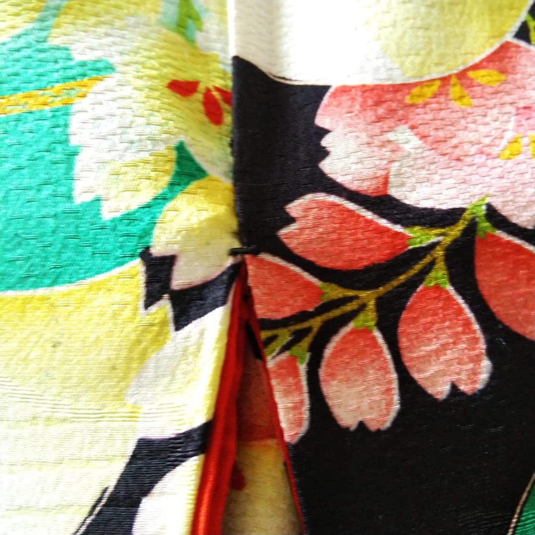 200812 アンティーク着物の繕いもの「閂止め」_f0164842_21525857.jpg