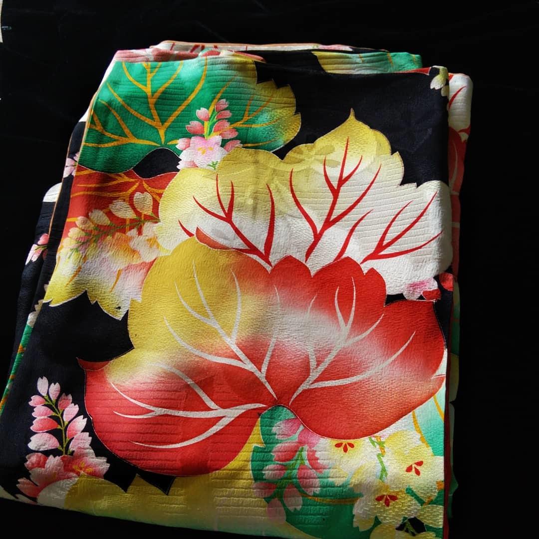200812 アンティーク着物の繕いもの「閂止め」_f0164842_21531242.jpg