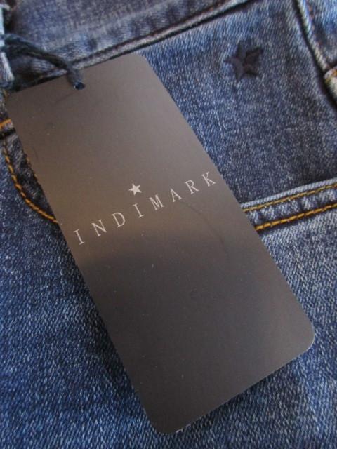 インディマーク / INDIMARK  W120 テーパードデニム_e0076692_17295445.jpg