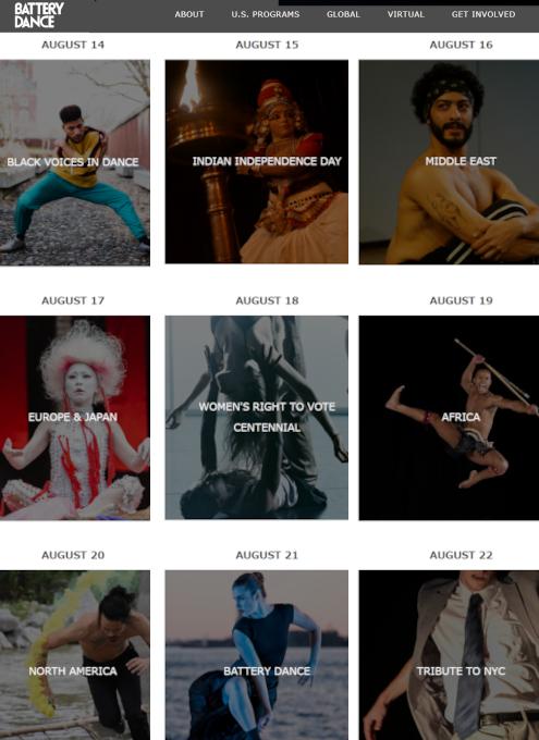 今年は無料でオンライン視聴できちゃう、バッテリー・ダンス・フェスティバル(Battery Dance Festival)2020_b0007805_02255416.jpg
