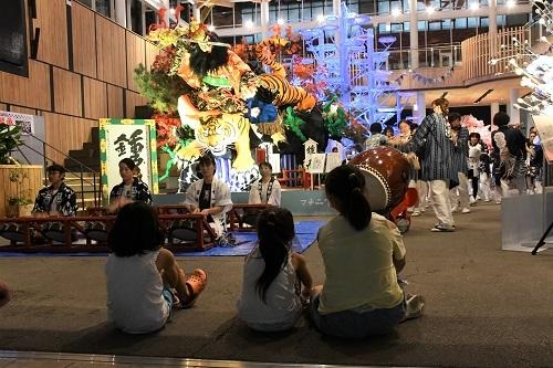 希望と継承 マチニワ山車展示どお囃子披露 おがみ神社_c0299631_22470573.jpg