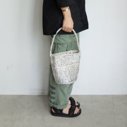 【再入荷】RECTANGLE : Silver Basket_a0234452_11445983.jpg