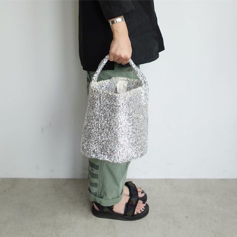 【再入荷】RECTANGLE : Silver Basket_a0234452_11450248.jpg