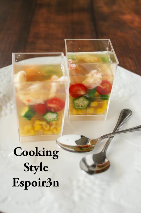 8月のフレンチ、お料理レッスンは牛肉のポートワイン煮と冷たい野菜のテリーヌ_c0162653_15211174.jpg