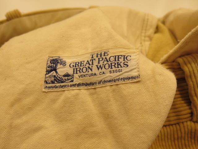 "\""THE GREAT PACIFIC IRON WORKS CORDUROY PANTS\""ってこんなこと。_c0140560_09251998.jpg"