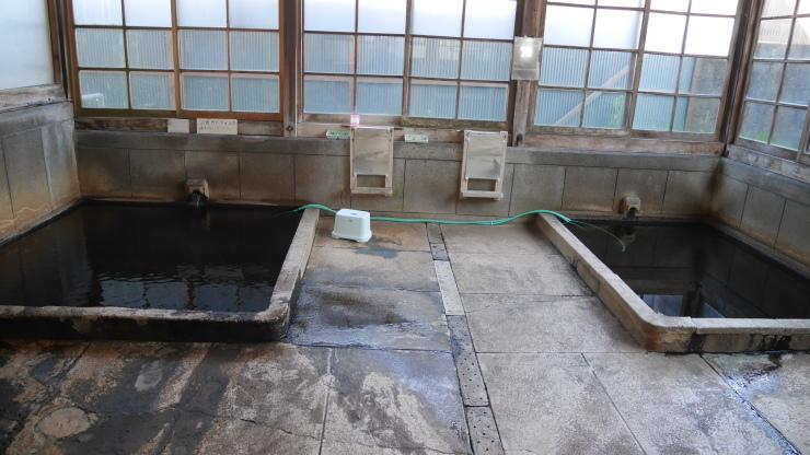豪雨被害から再起を願いたいが・・-人吉温泉共同湯「新温泉」_a0385880_16125817.jpg