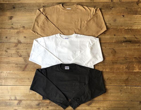 【DELIVERY】 STANDARD CALIFORNIA - Heavyweight Pocket Long Sleeve T_a0076701_16144242.jpg
