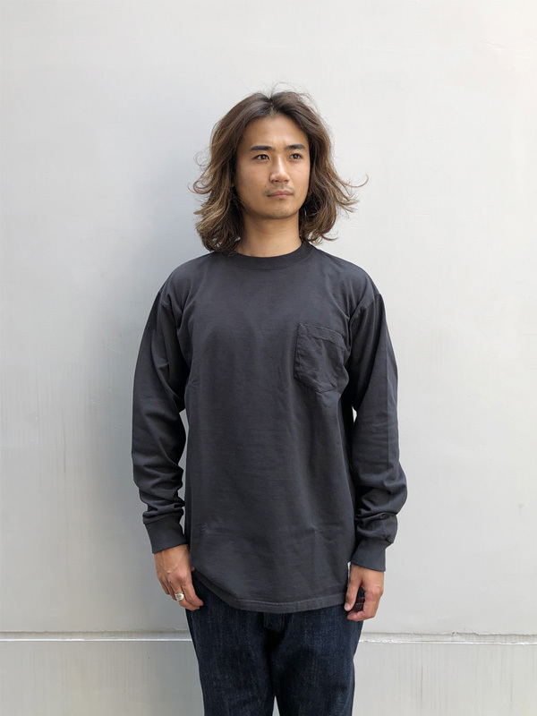 【DELIVERY】 STANDARD CALIFORNIA - Heavyweight Pocket Long Sleeve T_a0076701_16172031.jpg