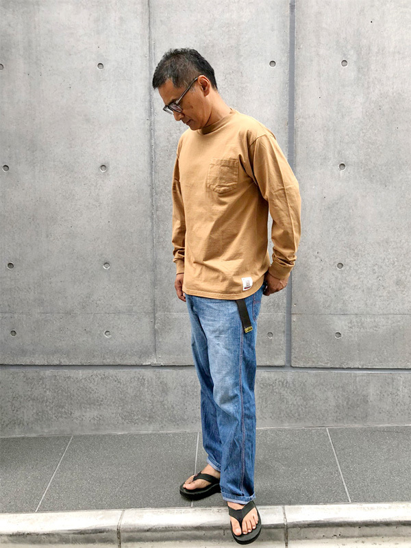 【DELIVERY】 STANDARD CALIFORNIA - Heavyweight Pocket Long Sleeve T_a0076701_16174228.jpg