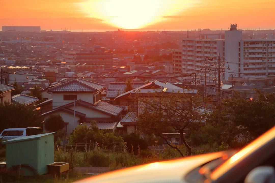 今日の夕焼け_e0403850_22021188.jpg